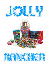 JOLLY Rancher ORIGINALE ASSORTITI Hard Candy trattare JAR BELLA IDEA REGALO