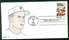 ROBERTO CLEMENTE FDC GCT CACHET numbered on reverse