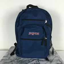 JanSport Big Student Navy BackPack Original 100% Authentic Superbreak School Bag