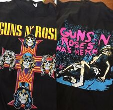 RARE DS Guns N Roses Appetite for Destruction/ Banned Cover Tour T-shirt - Med