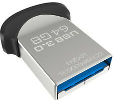 SanDisk Ultra Fit  64GB  USB 3.0 Flash Drive SDCZ43  64 GB PenDrive