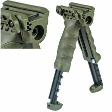 MAKO FAB DEFENSE TACTICAL BIPOD FOREGRIP for PICATINNY RAIL  T-POD OD-GREEN