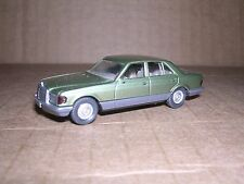 Wiking #157  Mercedes 500SE 4-Door Sedan  Green/Gray  Imported 1982 H.O.Gauge