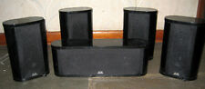 5 Theater Research Speakers Black from TR-505 system