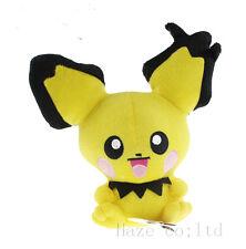 """7"""" Pokemon Rare PICHU Plush Doll Toy Free ship AU"""