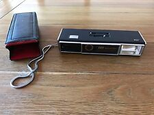 ITT VINTAGE con teleobiettivo macchina fotografica con custodia 110 Magic Flash oggetti di scena FILM VECCHI