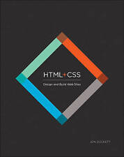HTML & CSS: Design and Build Web Sites, Good Condition Book, Jon Duckett, ISBN 9