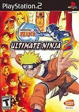 Naruto Ultimate Ninja 2 PS2 Playstation 2 Game Complete GREATEST HITS Version