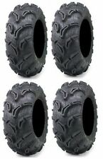 Four Maxxis Zilla ATV Tires Set 2 Front 27x9-12 & 2 Rear 27x11-12 6 ply set of 4