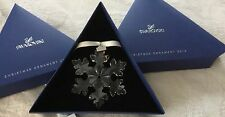 Swarovski Annual Large Clear Limited 2016 SNOWFLAKE ORNAMENT ~ MIB