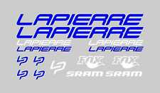 LAPIERRE KIT SET BIKE BICI PEGATINA ADHESIVO VINILO STICKER DECAL AUFKLEBER
