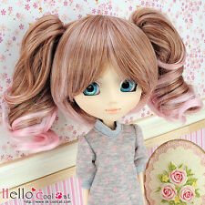 "【HT-GL2226】Pullip Taeyang DAL 8.0~9.5"" HP Wigs w/Hair Pin # Brown+Pink"