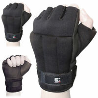 Sporteq 0.5kg Weighted Training Shadow Exercise Boxing Aerobics Wrist Gloves