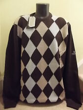 GLENBRAE LINED CREWNECK JUMPER/SWEATER Size XL Colour MOCA/PAMPAS/DUSK  NEW