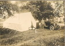vintage Occupational cabinet photo itinerant photograhpers tent samples model T