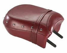 GENUINE INDIAN MOTORCYCLES CHIEF CHIEFTAIN ROADMASTER RED LEATHER PASSENGER SEAT
