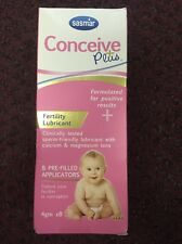 SASMAR Conceive Plus Fertility Lubricant 8 Pre-Filled Applicators For Couples