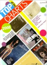 Top Charts Hits Of 2008 Featuring 20 Great Piano Keyboard Sheet Music Book Songs