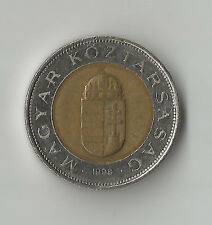 Hungary 100 one hundred Forint Coin 1998 nice circulated