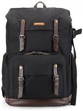 Camera Bag Backpack Laptop DSLR Lens waterproof Nylon Leather Belt Gadget Bag