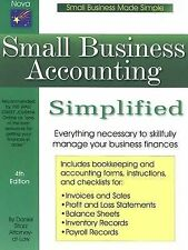 Small Business Accounting Simplified, 4th Edition (Small Business Made-ExLibrary
