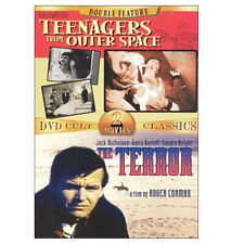 TEENAGERS FROM OUTER SPACE/THE TERROR (DVD) . roger corman jack nicholson karlof