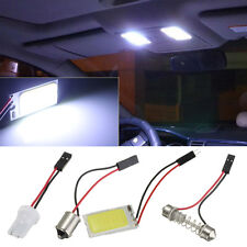 Panel T10 BA9S 21 LED COB Festoon Luz COCHE Interior Adapter Light Blanco DC 12V