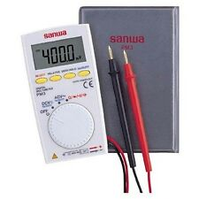 SANWA Pocket Size Digital Multimeter PM3 PM-3 New Japan