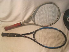 2 x pre-owned Tennis Racquet racquets racket oversize Spalding Prince Graphite +