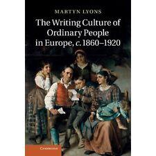 Writing Culture Ordinary People Europe c.. 9781107018891 Cond=LN:NSD SKU:3164268