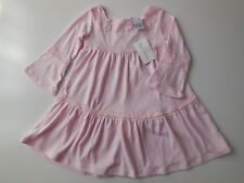 NEW Baby girl Teeny Weeny pink knit dress w vintage sleeves size 1