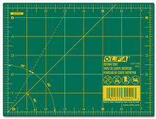 "OLFA Cutting Mat with Grid, 6"" x 8"" for Rotary Quilting RM-6x8"