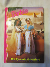 BARBIE HARDCOVER STORY BOOK-THE PYRAMID ADVENTURE