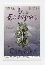 Les Claypool The Coup 2006 Jun 29 The Catalyst Santa Cruz Handbill John Seabury