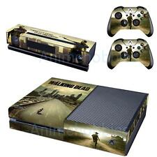 Walking Dead TWD Vinyl Skin Decals Covers for Xbox One Console Kinect Controller