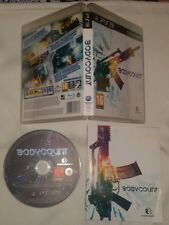 BODYCOUNT - PlayStation 3 PS3 Body Count Gioco Game Playstation Sony