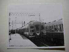JAP595 - 1965 KEIHAN ELECTRIC RAILWAY Co ~ TRAIN PHOTO Yawatacho Japan