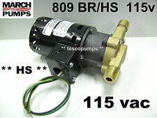 March  809 BR/HS  115v  Hot water pump  0809-0058-0100