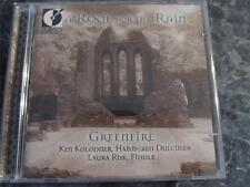 A ROOF FOR THE RAIN CELTIC MUSIC CD GREENFIRE DULCIMER FIDDLE KOLODNER RISK