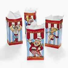 Big Top Paper Bags 12 Pc Party Favors Carnival Party (3/1538)
