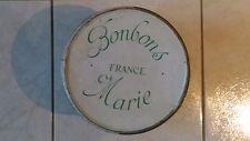 Boite Métallique Vintage « Bonbons France Marie » Bon Etat