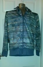 Adidas Originals Jeremy Scott Mens x small Denim Print designer Herren Jacket