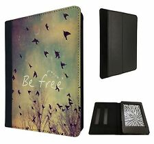 Cool Be Free Birds Sky and Clouds Case Flip cover For Kindle Paperwhite 6''
