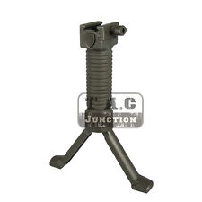 Tactical Quick Release Vertical Support Forward Foregrip Compact Bipod Grip Pod