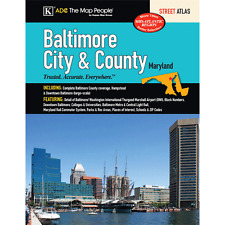 Baltimore City & County MD ADC Street Atlas