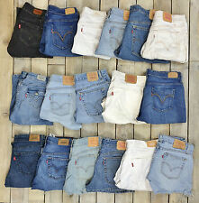 Job Lot - Grade A - 20 Pairs Levi's Strauss Ladies Denim Shorts Wholesale