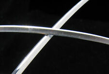 925 Solid STERLING Silver TRIANGLE Wire #9 1.27 x 1.07mm 1 FOOT 100% Recycled Ag