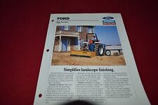 Ford Tractor 700 Box Scraper Dealer's Brochure DCPA