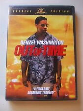 OUT OF TIME DVD DENZEL WASHINGTON 2004 SPECIAL EDITION VGC L@@K!