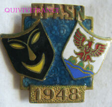 BG6267 - INSIGNE BADGE COMITE DES FETES NICE ARTS SPORTS 1948